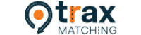 image of the Trax Matching logo and GPS pointer icon
