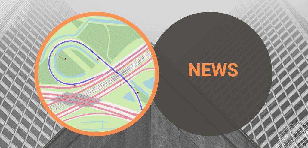 trax matching map matching news banner