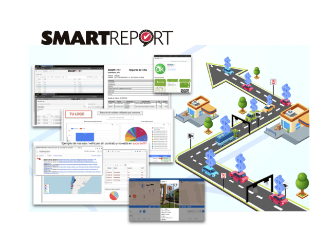 smartreport's fleet telematics solution utilising map matching