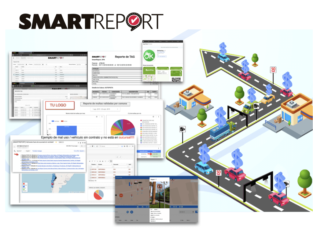 smartreport's fleet telematics solutions using map patching